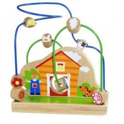Купить Лабиринт деревянный Toys Lab «Веселая ферма»