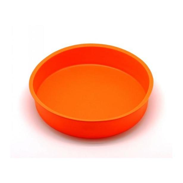 фото Форма для выпечки силиконовая Atlantis «Торт» SC-BK-004. Цвет: оранжевый