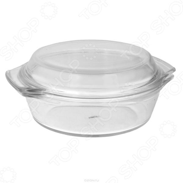 Кастрюля с крышкой Bekker BK-518Кастрюли<br>Кастрюля с крышкой Bekker BK-518 - практичная, красивая и экологически чистая модель, изготовленная из жаропрочного стекла. Кастрюля оснащена удобными ручками, а так же крышкой, которая так же может использоваться, как самостоятельная емкость. Благодаря тому, что кастрюля выполнена из жаропрочного стекла, ее можно использовать в микроволновой печи и в духовом шкафу, ее можно мыть в посудомоечной машине.<br>