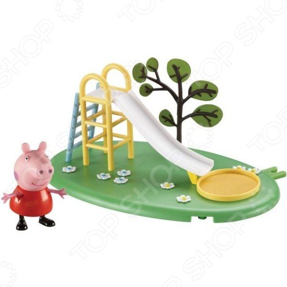 Набор игровой c фигуркой Росмэн «Игровая площадка. Горка Пеппы»Игровые наборы с персонажами мультфильмов, сказок и комиксов<br>Набор игровой c фигуркой Росмэн Игровая площадка. Горка Пеппы это увлекательный набор, который понравится вашему ребенку. Игрушка может стать частью большой игры с другими игровыми наборами, а кроме того, она создана для развития творческих способностей и основных социальных направлений развития ребенка. Ребенок может брать игрушку с собой на прогулку или поездку в автомобиле. Такие наборы отлично развивают мелкую моторику рук, фантазию, логическое и пространственное мышление.<br>