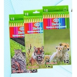 Купить Набор карандашей цветных Miraculous «Животные». В ассортименте