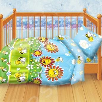 Детский комплект постельного белья Кошки-Мышки «Пчелки»