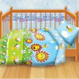 Купить Детский комплект постельного белья Кошки-Мышки «Пчелки»