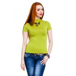фото Водолазка Mondigo 037. Цвет: зеленый. Размер одежды: 42