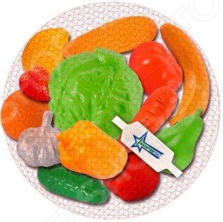 Игровой набор для девочки Нордпласт «Фрукты, овощи» 06591 посуда и наборы продуктов спектр игровой набор спектр фрукты и овощи