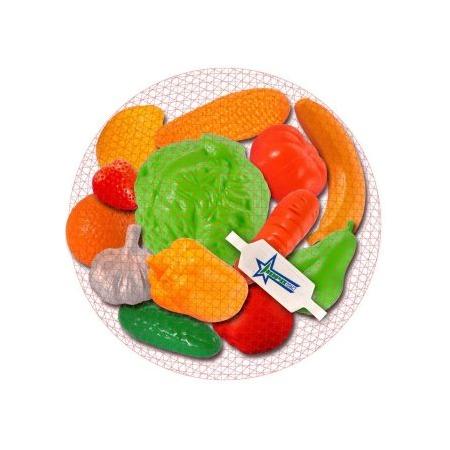 Купить Игровой набор для девочки Нордпласт «Фрукты, овощи» 06591
