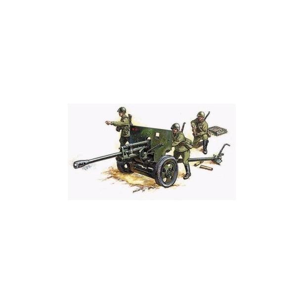 фото Сборная модель Звезда «Советская противотанковая пушка ЗИС-3»