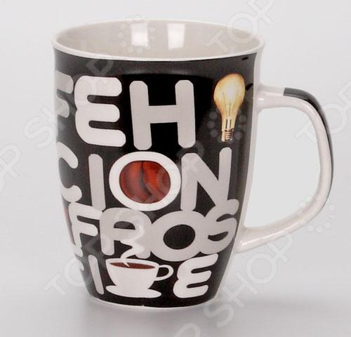 Кружка Loraine LR-4381Кружки. Чашки<br>Кружка Loraine LR-4381 изготовлена из высококачественной керамики и украшена дизайнерским рисунком. Посуда из этого материала позволяет максимально сохранить полезные свойства и вкусовые качества воды. Заварите крепкий, ароматный кофе или чай в представленной модели, и вы получите заряд бодрости, позитива и энергии на весь день! Классическая форма и насыщенная цветовая гамма изделия позволят наслаждаться любимым напитком в атмосфере еще большей гармонии и эмоциональной наполненности. Кроме того, за кружкой легко ухаживать, т.к. ее можно мыть в посудомоечной машине. Кружка Loraine LR-4381 является прекрасным подарком для ваших любимых, родных и близких. Поставляется в подарочной упаковке.<br>