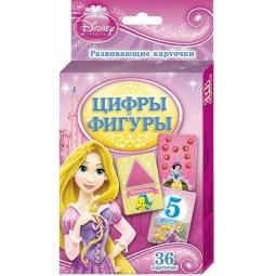 Купить Disney. Принцесса. Цифры и фигуры. Развивающие карточки