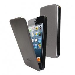 фото Чехол LaZarr Flip Case для Apple iPhone 5. Цвет: серый