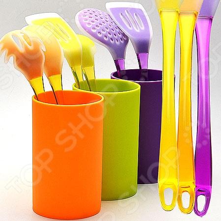 Набор кухонных принадлежностей Mayer&Boch MB-22487. В ассортименте набор кухонных принадлежностей 7 предметов peterhof цвет в ассортименте