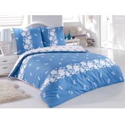 фото Комплект постельного белья Tete-a-Tete «Гжель». 1,5-спальный