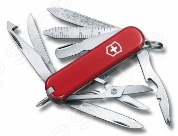 Нож перочинный Victorinox MiniChamp 0.6385 нож перочинный victorinox minichamp 0 6381 26 58мм алюминиевая рукоять серебристый