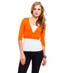 фото Болеро Mondigo 071. Цвет: оранжевый. Размер одежды: 46