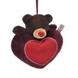 фото Мягкая игрушка для ребенка Orange «Медведь мальчик на сердце»