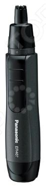 Машинка для стрижки Panasonic ER-407K520Триммеры<br>Panasonic ER-407K520 это удобная, надежная и очень комфортная в работе машинка для стрижки. Представленная модель предназначена для удаления волос в носу и в ушах. Изделие идеально подходит как для использования в домашних условиях, так и в путешествиях или командировках. Триммер оснащен мощным двигателем, который раскручивает ножи до 5000 об минуту и защитным колпачком. Лезвия изготовлены из высококачественной нержавеющей стали и их можно мыть водой в целях гигиены. Прибор работает от одной батарейки типа АА не входит в комплект . Длительность беспрерывной работы составляет 90 минут.<br>