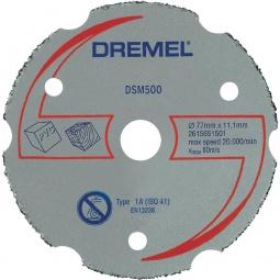 Купить Диск отрезной твердосплавный Dremel DSM500