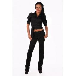 фото Блузка Mondigo 9635. Цвет: черный. Размер одежды: 44
