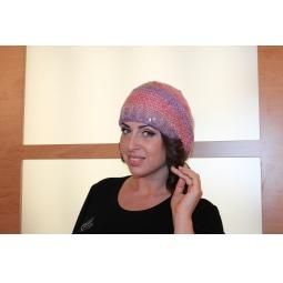 фото Шапка Milana Style «Сумерки». Цвет: фиолетовый