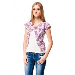 фото Жакет Mondigo 9782. Цвет: лиловый. Размер одежды: 46
