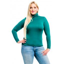 фото Водолазка Mondigo XL 046. Цвет: темно-зеленый. Размер одежды: 52