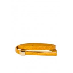 фото Ремень Mondigo 0189. Цвет: горчичный. Длина: 105 см