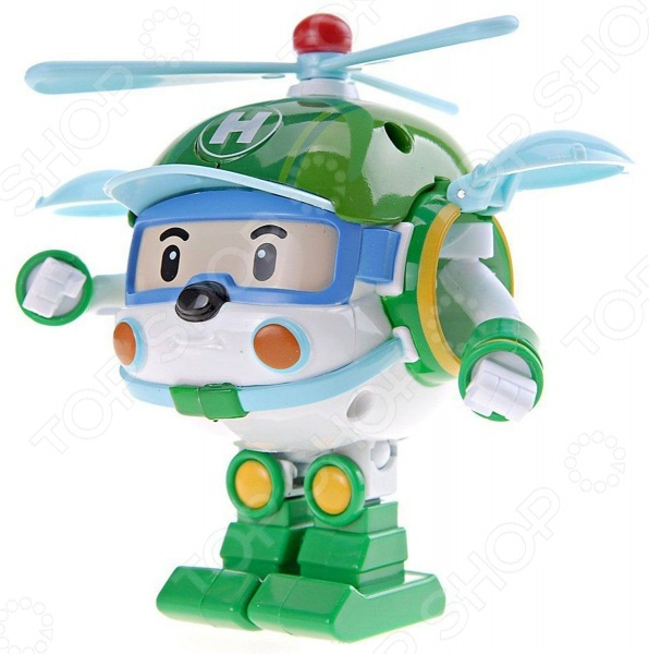 Игрушка-трансформер со световыми эффектами Poli «Хэли» 83096
