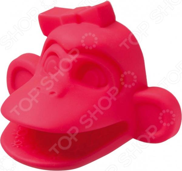 Прихватка силиконовая Marmiton «Мартышка» 16144 прихватка marmiton термостойка рукавица для кухни marmiton розовый силикон