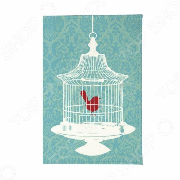 Обложка для паспорта кожаная Mitya Veselkov «Птичка в клетке»Обложки для паспортов<br>Обложка для паспорта кожаная Mitya Veselkov Птичка в клетке станет отличным дополнением к набору аксессуаров и подчеркнет вашу креативность и неповторимый вкус. Модель выполнена из натуральной кожи, отличается стильным дизайном и великолепным качеством исполнения. Обложка декорирована односторонним принтом, подходит как для внутреннего, так и для заграничного паспорта. Торговая марка Mitya Veselkov это синоним первоклассного качества и стильного современного дизайна. Компания занимается производством и продажей часов, кошельков, обложек на документы и т.д. Креативность, оригинальность и творческий подход вот основные принципы торгового бренда Mitya Veselkov.<br>
