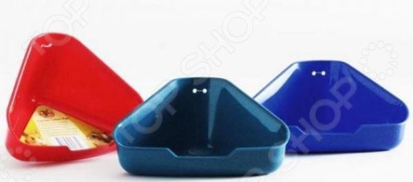 Туалет для мелких грызунов угловой Beeztees 810894. В ассортиментеТуалет для грызунов<br>Товар продается в ассортименте. Цвет изделия при комплектации заказа зависит от наличия товарного ассортимента на складе. Туалет для мелких грызунов угловой Beeztees 810894 станет отличным приобретением для вашего питомца и обеспечит зверьку чистоту и комфорт. Помимо этого, его использование также существенно упростит уборку клетки животного. Модель выполнена из высокопрочного пластика и рассчитана для мелких грызунов хомяки, мыши и др. .<br>