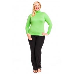 фото Водолазка Mondigo XL 046. Цвет: салатовый. Размер одежды: 48