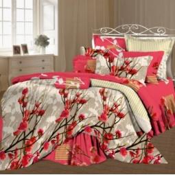 фото Комплект постельного белья Романтика «Венецианский парк». 2-спальный. Размер наволочки: 50х70 см — 2 шт