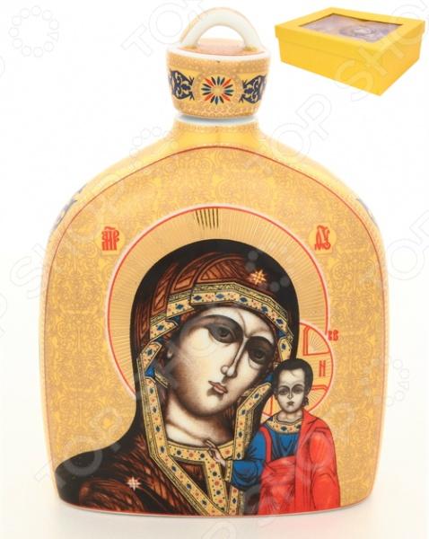 Сосуд для святой воды Elan Gallery «Казанская Божья Матерь»