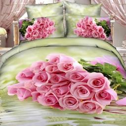 фото Комплект постельного белья с эффектом 3D Buenas Noches For You. 2-спальный