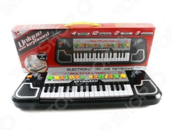 Синтезатор игрушечный Shantou Gepai 876-1 музыкальные инструменты shantou gepai синтезатор 876 1