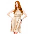Фото Платье Mondigo 8681. Цвет: горчичный. Размер одежды: 46