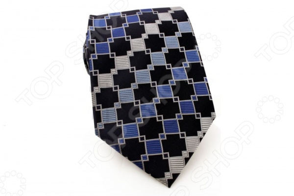 Галстук Mondigo 33372Галстуки. Бабочки. Воротнички<br>Галстук Mondigo 33372 станет важным дополнением гардероба каждого мужчины, ведь стильный и правильно подобранный галстук способен превратить повседневный классический образ мужчины в стильный и современный образ делового человека. Галстук выполнен из высококачественной микрофибры голубого цвета и украшен изящными геометрическими узорами. Модель послужит прекрасным дополнением костюма и будет гармонично смотреться как в офисе, так и на официальных торжественных мероприятиях. В комплекте с галстуком карманный платок размером 23х23 см. Ширина у основания галстука составляет 8,5 см.<br>