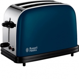 фото Тостер Russell Hobbs Colours. Цвет: синий