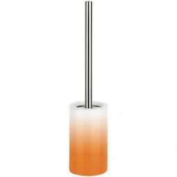 фото Ёршик для туалета Spirella Tube Gradient. Цвет: оранжевый
