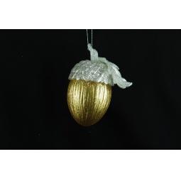 Купить Елочное украшение Crystal Deco «Желудь» 1707593