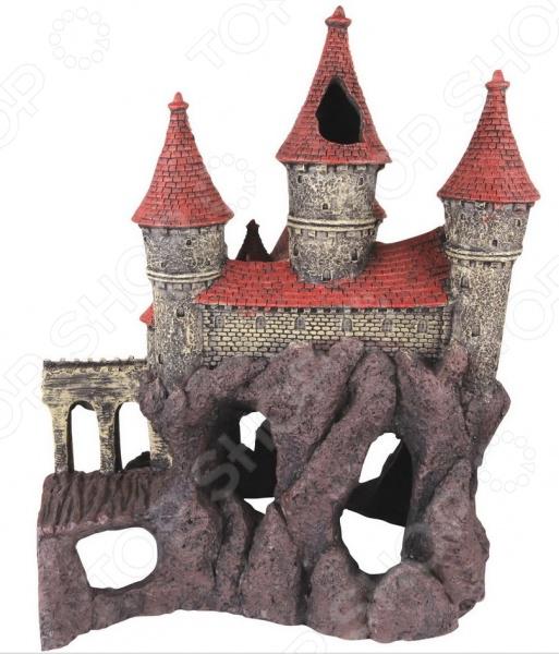 Замок для аквариума DEZZIE «Магия», левая сторона