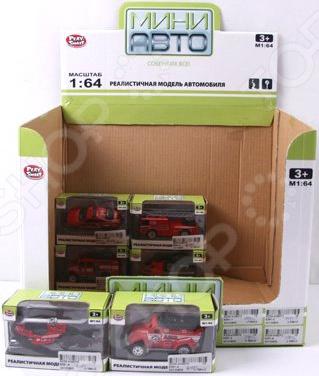 Машинка игрушечная PlaySmart «Спецтехника» Р41158. В ассортименте