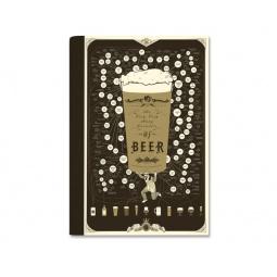 Купить Блокнот с постером Beer