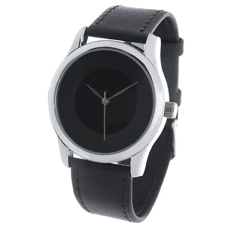 Купить Часы наручные Mitya Veselkov «Черно-серый диск»