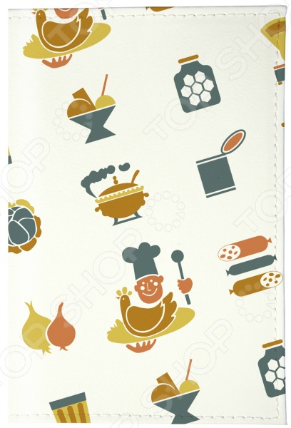 Обложка для паспорта кожаная Mitya Veselkov «Гастроном СССР»Обложки для паспортов<br>Mitya Veselkov Гастроном СССР это современная и ультрамодная обложка для вашего паспорта. Украшенная дизайнерским принтом с внешней стороны модель, предназначена для людей, которые хотят сделать жизнь ярче, красочней, а к традиционным вещам подходят творчески. Изделие подходит как для внутреннего, так и заграничного удостоверения личности. Изготовленная из натуральной кожи обложка, надежно защитит важный документ от внешнего воздействия, поэтому он всегда будет как новый. Придайте паспорту оригинальности и подчеркните свою уникальность!<br>