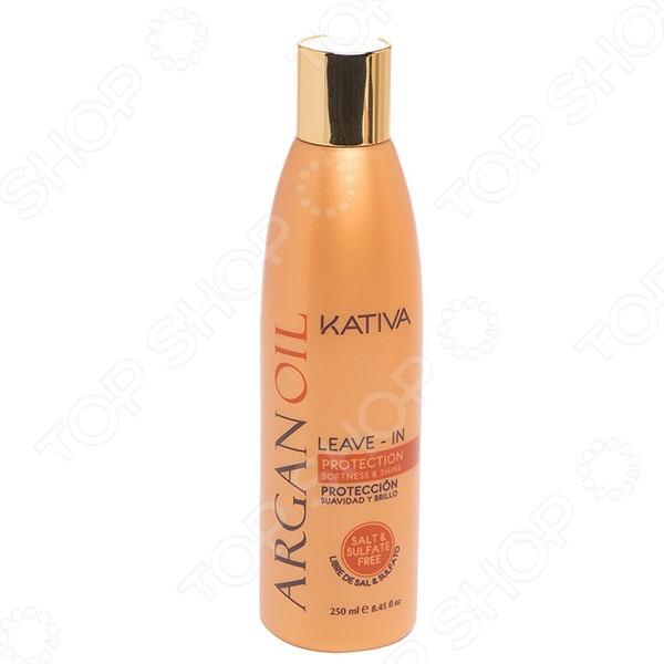 Концентрат для волос оживляющий с маслом Арганы Kativa масло kativa morocco argan oil nuspa масло