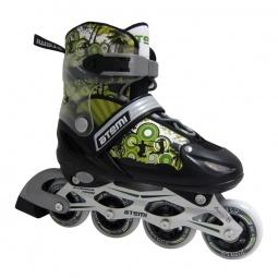 Купить Детские роликовые коньки ATEMI AJIS-12.04 Jungle Boy