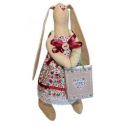 Купить Набор для изготовления текстильной игрушки Кустарь «Зайка Агата»
