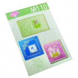 Купить Набор схем для парчмента Pergamano M110 Весенние цветы