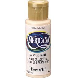 фото Краска акриловая DecoArt Премиум Americana. Цвет: телесно-розовый